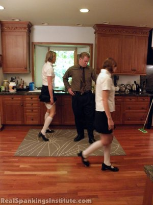 Real Spankings Institute - Monica And Roxie Caught Making Fun Of Danny (part 2 Of 2) - image 13