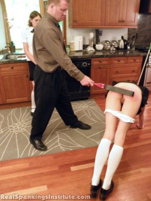 Real Spankings Institute - Monica And Roxie Caught Making Fun Of Danny (part 1 Of 2) - image 4