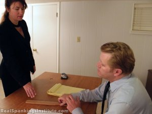Real Spankings Institute - Monica Punished By Miss Blake And The Assistant Dean - image 11
