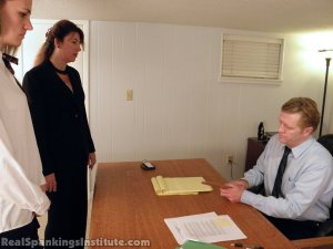 Real Spankings Institute - Monica Punished By Miss Blake And The Assistant Dean - image 8