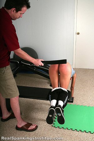 Real Spankings Institute - Kiki Punished In The Gym By The Dean (part 2 Of 2) - image 10