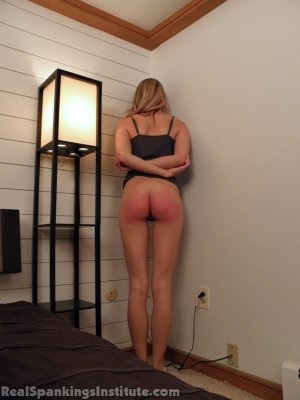 Real Spankings Institute - Monica: Spanked By The Assistant Dean (part 2) - image 3