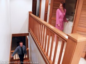 Real Spankings Institute - Allison: Nude Punishment With The Prison Strap - image 5