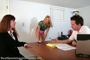Real Spankings Institute - Riley: Long Hard Spanking With Witnesses (part 1) - image 4