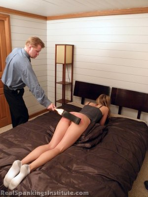 Real Spankings Institute - Monica: Spanked By The Assistant Dean (part 2) - image 2