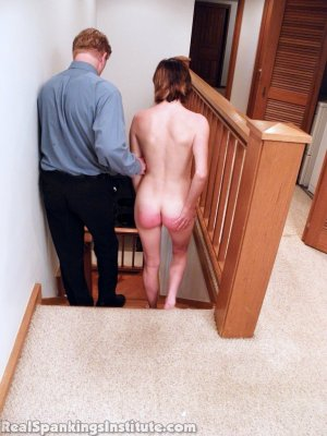 Real Spankings Institute - Allison: Nude Punishment With The Prison Strap - image 9