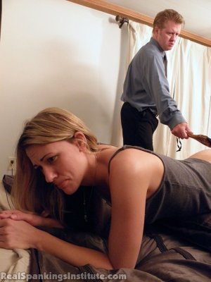 Real Spankings Institute - Monica: Spanked By The Assistant Dean (part 2) - image 7