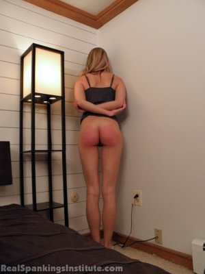 Real Spankings Institute - Monica: Spanked By The Assistant Dean (part 2) - image 15