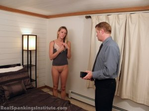 Real Spankings Institute - Monica: Spanked By The Assistant Dean (part 2) - image 10