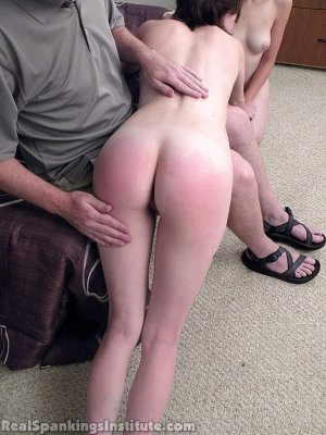 Real Spankings Institute - Roxie And Allison Caught Making Out (part 2 Of 3) - image 3