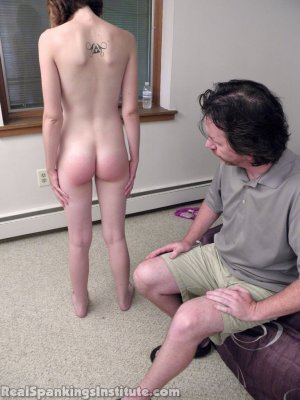Real Spankings Institute - Roxie And Allison Caught Making Out (part 1 Of 3) - image 9