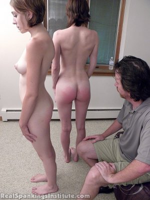 Real Spankings Institute - Roxie And Allison Caught Making Out (part 2 Of 3) - image 5