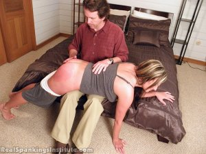 Real Spankings Institute - Riley Punished By The Dean (part 1 Of 2) - image 7