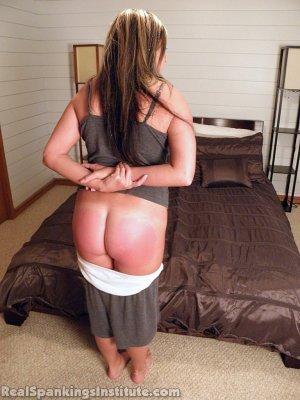 Real Spankings Institute - Riley Punished By The Dean (part 1 Of 2) - image 11