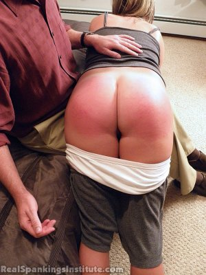 Real Spankings Institute - Riley Punished By The Dean (part 1 Of 2) - image 14
