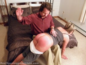 Real Spankings Institute - Riley Punished By The Dean (part 1 Of 2) - image 18