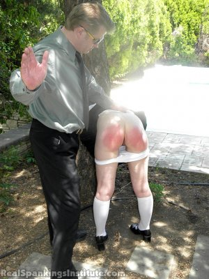 Real Spankings Institute - Ivy Spanked By Danny (part 1 Of 2) - image 4