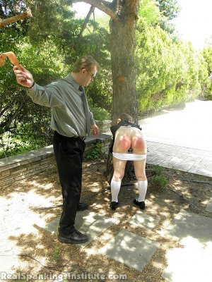 Real Spankings Institute - Ivy Spanked By Danny (part 2 Of 2) - image 2