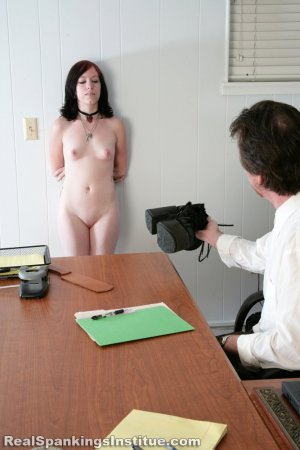 Real Spankings Institute - Kat's Arrival To The Institute - image 1