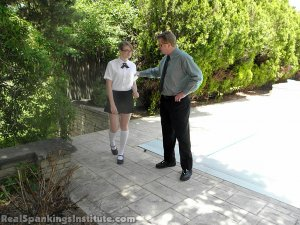 Real Spankings Institute - Ivy Spanked By Danny (part 1 Of 2) - image 1
