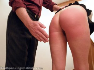 Real Spankings Institute - Brooke Is Spanked By The Dean (part 1 Of 2) - image 5