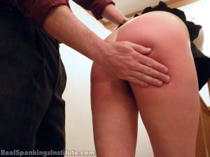 Real Spankings Institute - Brooke Is Spanked By The Dean (part 1 Of 2) - image 15