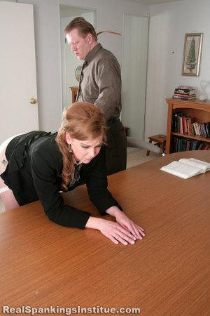 Real Spankings Institute - Lauren Is Punished By Danny (part 2 Of 2) - image 8