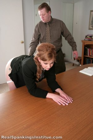 Real Spankings Institute - Lauren Is Punished By Danny (part 2 Of 2) - image 12