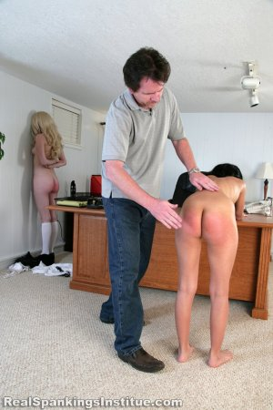 Real Spankings Institute - Kiki's Arrival To The Institute (part 2 Of 2) - image 13