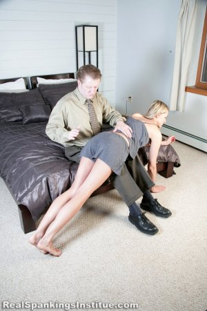 Real Spankings Institute - Monica Spanked By Danny (part 1 Of 3) - image 3