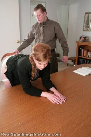 Real Spankings Institute - Lauren Is Punished By Danny (part 2 Of 2) - image 10