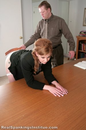 Real Spankings Institute - Lauren Is Punished By Danny (part 2 Of 2) - image 18