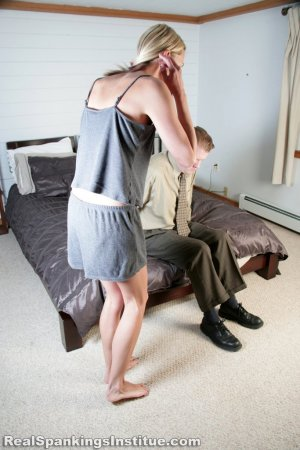 Real Spankings Institute - Monica Spanked By Danny (part 1 Of 3) - image 10