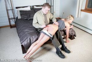 Real Spankings Institute - Monica Spanked By Danny (part 1 Of 3) - image 15