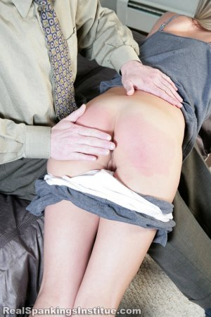 Real Spankings Institute - Monica Spanked By Danny (part 1 Of 3) - image 13