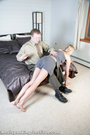 Real Spankings Institute - Monica Spanked By Danny (part 1 Of 3) - image 12