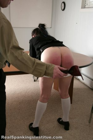 Real Spankings Institute - Jade Punished For Disrespecting Danny - image 9