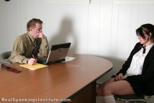 Real Spankings Institute - Jade Punished For Disrespecting Danny - image 2