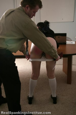Real Spankings Institute - Jade Punished For Disrespecting Danny - image 7