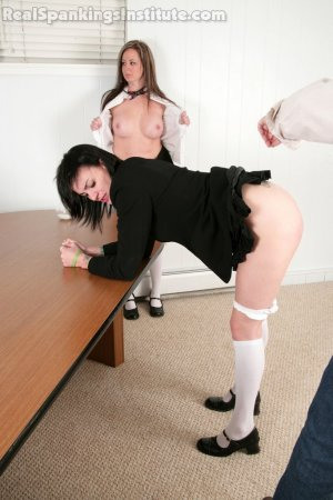 Real Spankings Institute - Jade Spanked In Front Of Riley - image 2