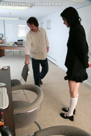 Real Spankings Institute - Jade And Riley Late To A Study Session (part 1 Of 2) - image 5