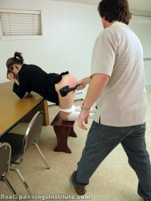 Real Spankings Institute - Jade Punished By The Dean - image 8