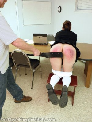 Real Spankings Institute - Jade Punished By The Dean - image 6