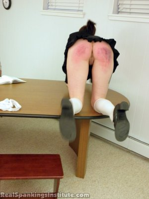 Real Spankings Institute - Jade Punished By The Dean - image 15