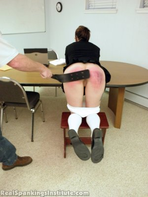 Real Spankings Institute - Jade Punished By The Dean - image 16