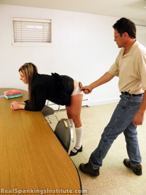 Real Spankings Institute - Late For Detention - image 2