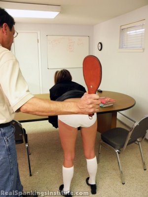 Real Spankings Institute - Late For Detention - image 3