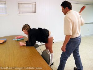 Real Spankings Institute - Late For Detention - image 8