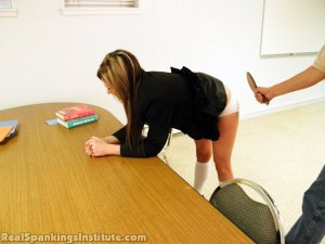 Real Spankings Institute - Late For Detention - image 4