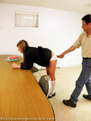 Real Spankings Institute - Late For Detention - image 10